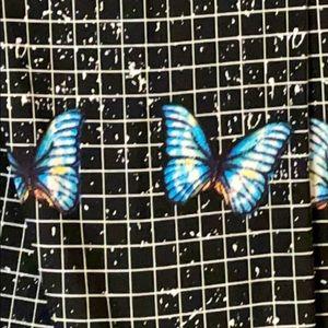 LuLaRoe OS Butterfly Leggings